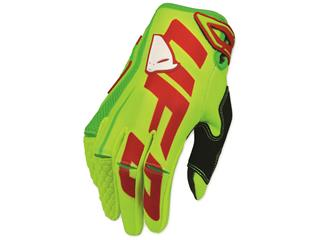 UFO Blaze Gloves Fluoro Yellow/Green Size 8(EU) - S(US)