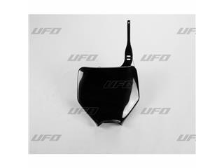 Plaque numéro frontale UFO noir Kawasaki - 78222720