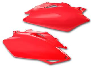 PLAQUES LAT ROUGE CRF450 09-