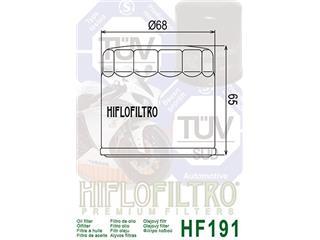 Filtre à huile HIFLOFILTRO HF191 Triumph - d1b39b1b-e3bb-4f65-9333-afd34ff852b0