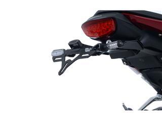 R&G RACING License Plate Holder Black Honda CB125R - d20a5a9b-99d5-411a-9899-ce0bf3cc3e31