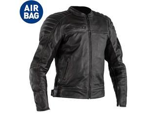 Chaqueta (Piel) FUSION Airbag Negro, 48 EU/Talla XS - 814000840167
