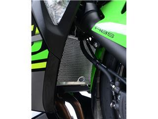 Protection de radiateur R&G RACING noir Kawasaki Ninja 400