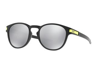 OAKLEY Latch Valentino Rossi Signature Series Sunglasses Matte Black Chrome Iridium Lens