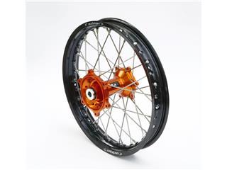 ART Complete Rear Wheel 19x2,15x36T Black Rim/Orange Hub/Silver Spokes/Silver Spoke Nuts