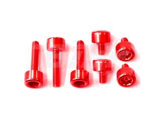 Kit parafusaria tampa reservatório Pro-Bolt alumínio TYA170R vermelha