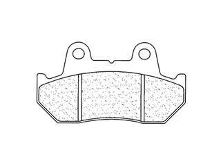 Plaquettes de frein CL BRAKES 2289S4 métal fritté