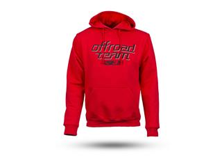 S3 Off-Road Hoodie Red Size S - 825000140369