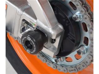 Protection de bras oscillant R&G RACING noir Honda CBR600RR/1000RR