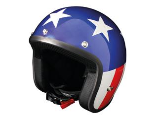 Casque ORIGINE Primo Vegas bleu/blanc/rouge S - OR001123