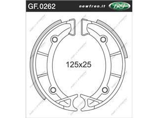 Machoires de frein NEWFREN GF0262 organique