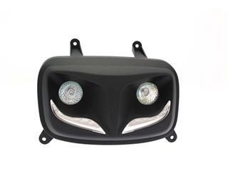 Faro auxiliar LED R8 BIHR negro mate - 323051