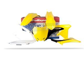 Kit plastique POLISPORT couleur origine (09-12) Suzuki RM-Z450 - PS411ST111