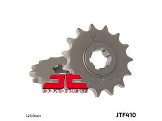 JT SPROCKETS Front Sprocket 15 Teeth Steel Standard 428 Pitch Type 410