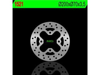 Disque de frein NG 1521 rond fixe - 3501521