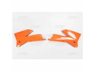 Ouïes de radiateur UFO orange KTM - 78534853