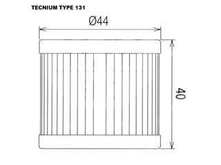 Filtre à huile TECNIUM type 131 - d3be182d-20ef-4629-82e0-52b3354ce136