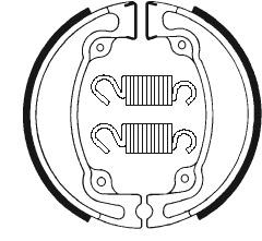 Machoires de frein TECNIUM BA042 organique