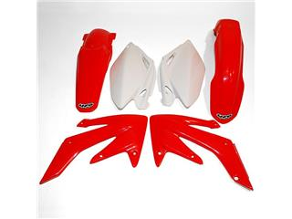 Kit plastique UFO couleur origine rouge/blanc Honda CRF250R - 78143800