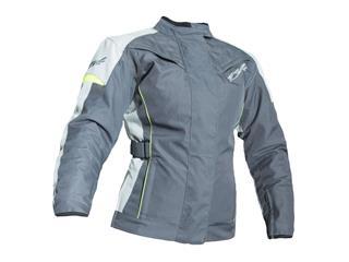 RST Ladies Gemma Jacket Textile Grey/Flo Yellow Size XS Women