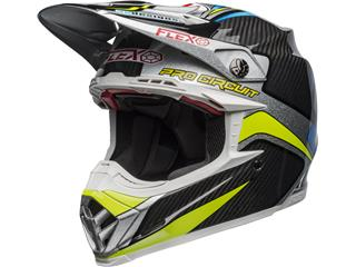 Casque BELL Moto-9 Flex Pro Circuit Replica 19 Gloss Black/Green taille XS