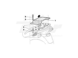 Fijaciones Top SHAD Honda VARADERO 125/650/1000