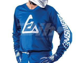 T-shirt ANSWER Elite Solid Azul Tamanho XXL - d4fb55b3-d5dd-4f51-8c05-0d892fae7ac5