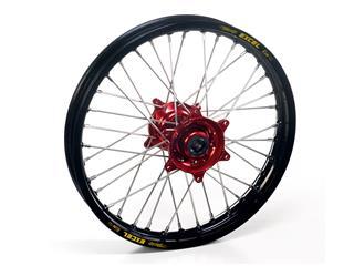 HAAN WHEELS Komplett bakhjul 18X2.15 Svart Fälg/Rött Nav Honda CRF450R/RX