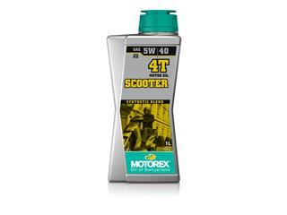 MOTOREX Scooter 4T Motoröl 5W40 Semi-synthetisch 1L