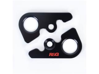 Platines pour sangles R&G RACING noir MV Agusta F4RC - 6190005101