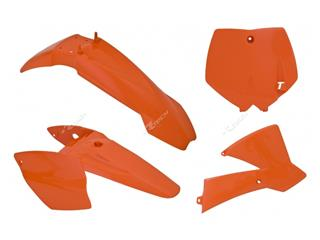 Kunststoff-Kit Racetech Originalfarbe orange KTM SX65