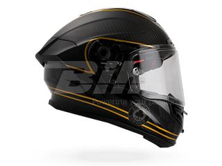 CASCO BELL RACE STAR ACE CAFE SPEED CHECK MATE NEGRO/ORO 55-56 / TALLA XS