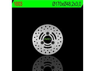 Disque de frein NG 1003 rond fixe - 3501003