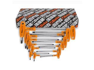 Jeu de 8 clés mâles Torx® à poignée en T BETA haute performance - 55000150