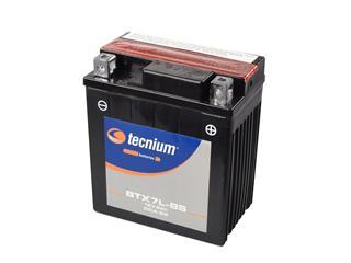 Batterie TECNIUM BTX7L-BS sans entretien livrée avec pack acide - 329804
