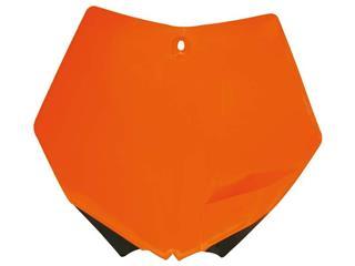 Plaque numéro frontale RACETECH orange KTM