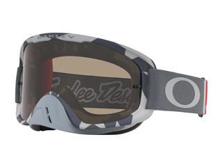 Masque OAKLEY O Frame 2.0 MX Troy Lee Designs Low Vis Grey écran Dark Grey