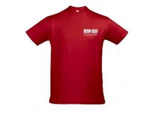 T-shirt BS rouge Taille XXL