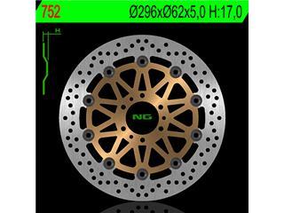 Disque de frein NG 752 rond semi-flottant - 350752