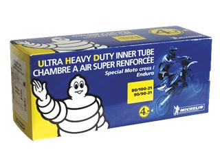MICHELIN Tube OFFROAD (18 UHD MEDIUM VALVE TR4) 120/90-18 4mm thick
