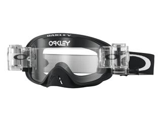 OAKLEY O Frame 2.0 Race-Ready Roll-Offs Goggle Matte Black Clear Lens