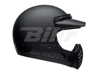 Casco Bell Moto-3 Blackout Negro Mate/Negro, Talla S