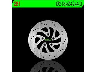 Disque de frein avant droit NG 281 rond fixe Italjet - 350281