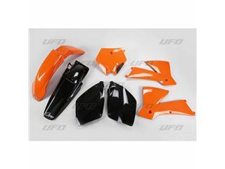 UFO Plastic Kit OEM Color Orange/Black KTM
