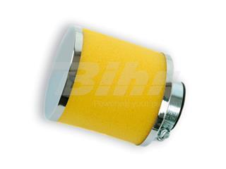 Filtro 80x80mm espuma 28/35 reto.Amarela