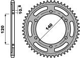 Couronne PBR 40 dents acier standard pas 530 type 498 - 47000482