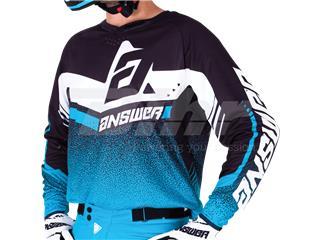 T-shirt ANSWER Trinity Preta/Azul/Branca Tamanho S - d7eef904-8393-465c-8642-a6f0d20eccbf