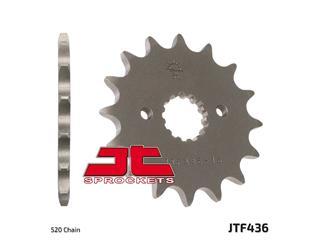 JT SPROCKETS Front Sprocket 15 Teeth Steel Standard 520 Pitch Type 436