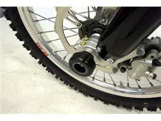 Protection de fourche R&G RACING noir BMW G450X Enduro