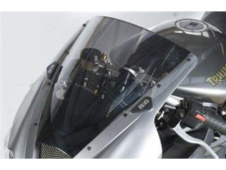 R&G RACING Mirror Blanking Plate Black Triumph Daytona 675/R